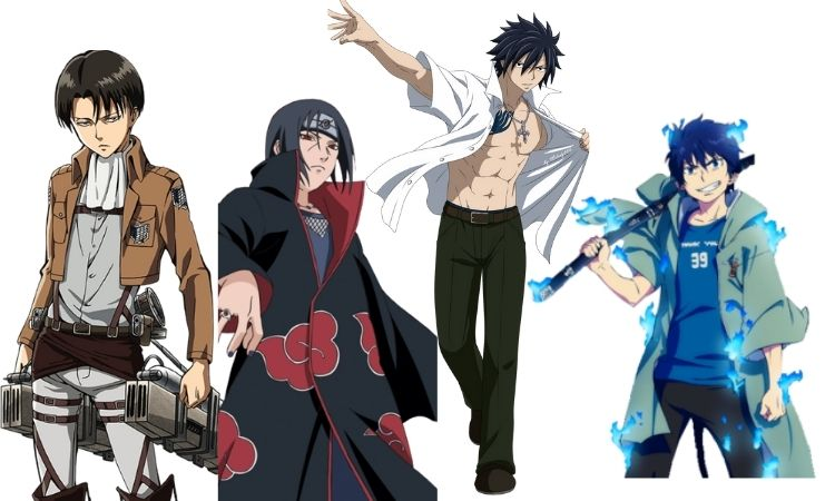 Best Anime Characters with Black Hair