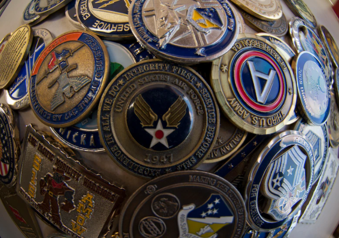 Air Challenge Coin