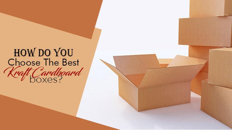 Best Kraft Cardboard Boxes